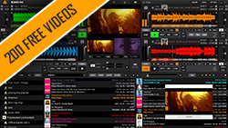 get 200 free music videos with DEX 3 DJ and video mixing software