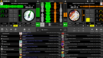 DEX 3 LE Free DJ Software Main