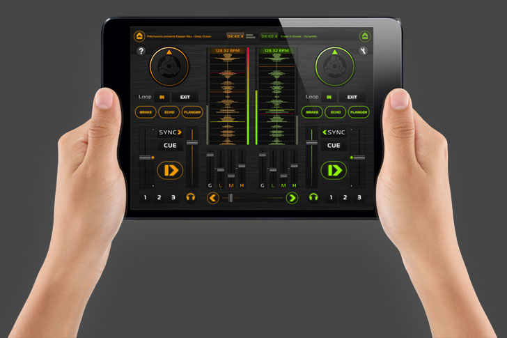 DEX DJ iPad App