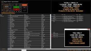 Karaoki karaoke show hosting software screenshot