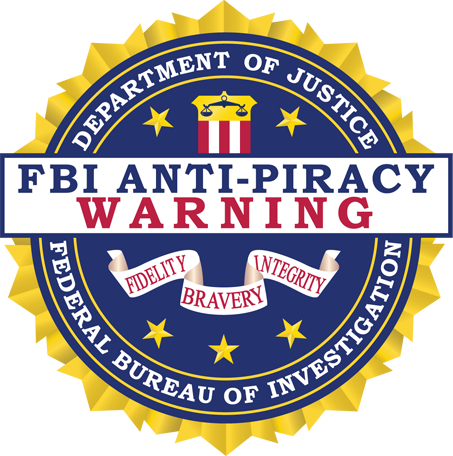 FBI Copyright Notice