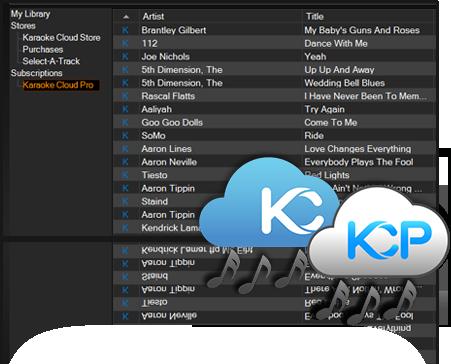 karaoke cloud pro and karaoke cloud in Karaoki
