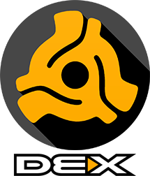 DEX 3 Logo With DEX Text
