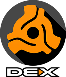DEX 3 Large Logo With Text