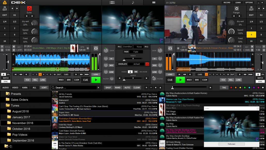 Djing Software Free >> DEX 3 DJ and Video Mixing Software for Pro DJs | PCDJ