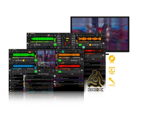 DEX 3 Mixing Software - audio - video - karaoke