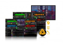 DEX 3 DJ and Video Mixing Software Screen Shot