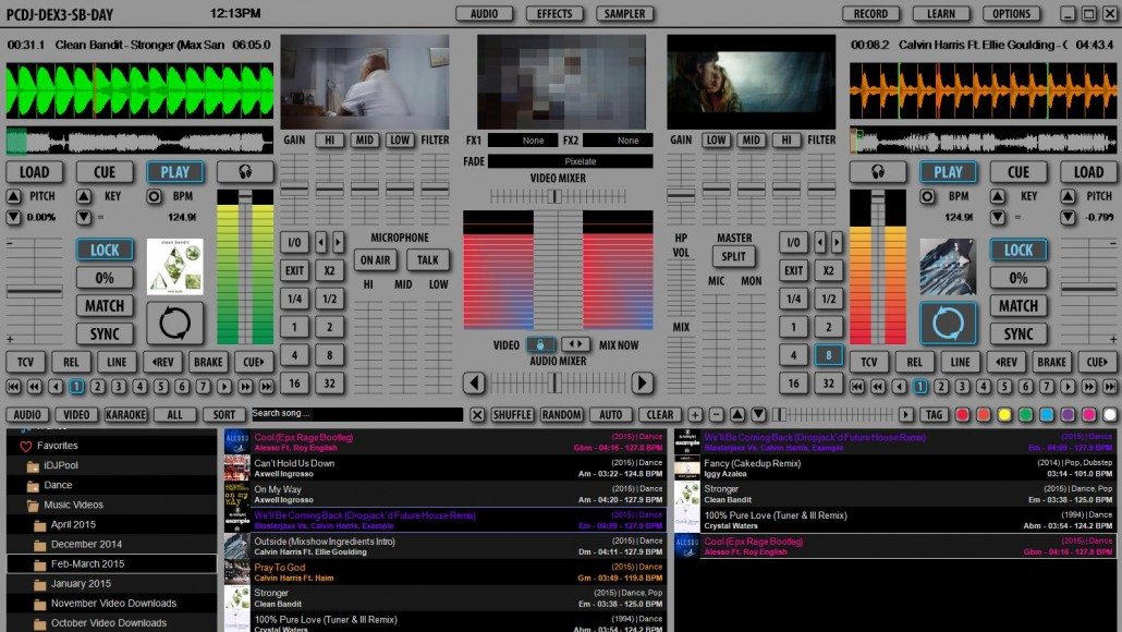 dj mixer software free download full version for pc