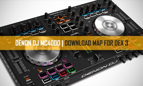 DEX 3 DJ software with MC4000 DJ controller