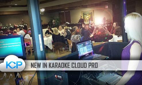 New Tracks in Karaoke Cloud Pro