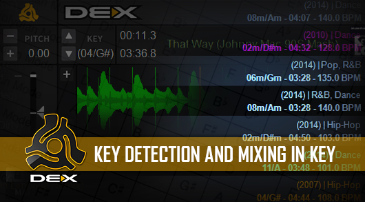 Key mixing in DEX 3