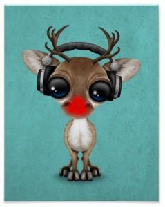 DJ playlist reindeer