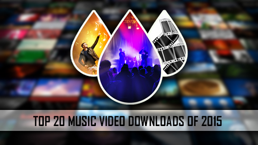 Top 20 Music Video Downloads of 2015