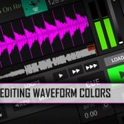 Editing Waveform colors in DJ software