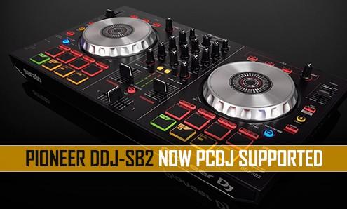 Pioneer DDJ-SB DJ controller with PCDJ