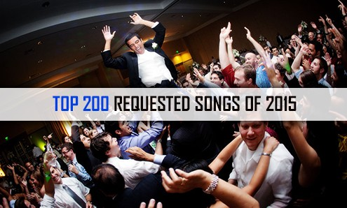 Most requested songs from DJs in 2015
