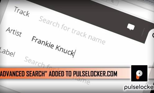 Advanced Search at Pulselocker.com