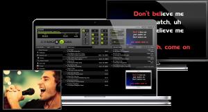 LYRX Karaoke Software For MAC Multiple Screens