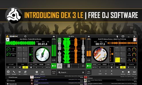 DEX 3 LE Free DJ Software Banner