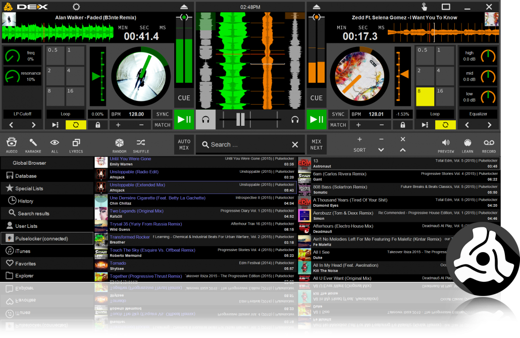 mobile disc jockey software
