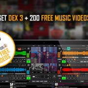 DEX 3 plus 200 free music videos