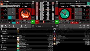 DEX 3 DJ software screen shot medium