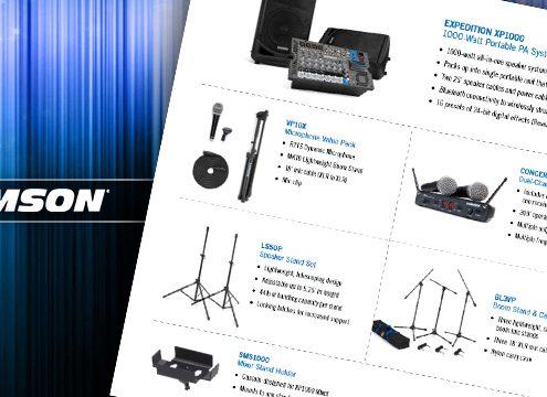 samson complete karaoke systems