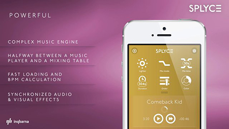 Splyce DJ App Features