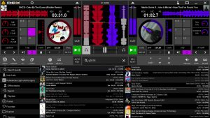 Cue Hue Skin For DEX 3 DJ Software