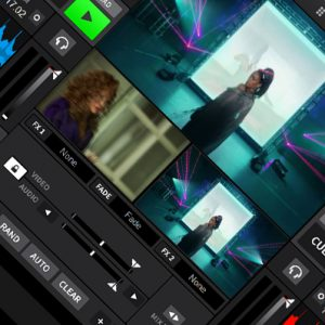The Video Pool In DEX 3 Video Mixing Software