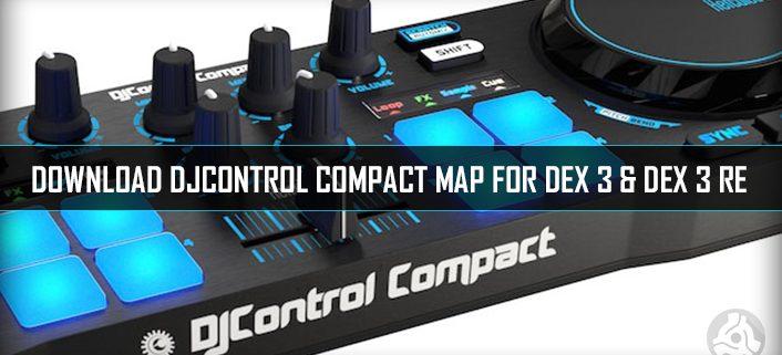 Hercules DJ Control Compact PCDJ Map