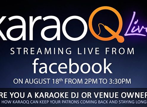 karaoq live stream on facebook
