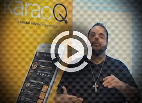 KaraoQ mobile app live stream