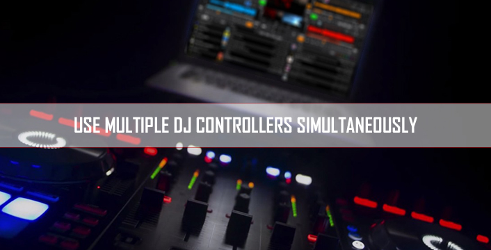 how to connect multiple midi controllers