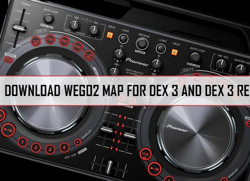 WeGo2 Map for DEX 3 and DEX 3 RE