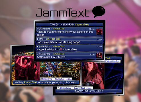 Jammtext interactive software