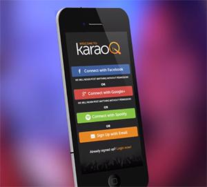 KaraoQ Mobile App