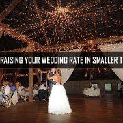 Raising Wedding DJ rates in small town