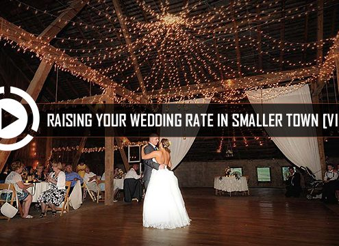 Raising Wedding DJ rates in small town
