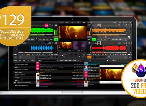 Get 200 music video downloads for free with DEX 3
