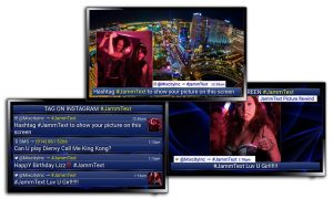 JammText Various Screens