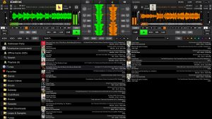 DEX 3 DJ Software With Halloween Playlist