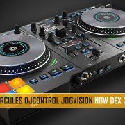 Hercules DJControl JogVision with DEX 3