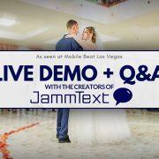 JammText Live Demonstration