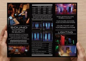 DJ Business Brochure
