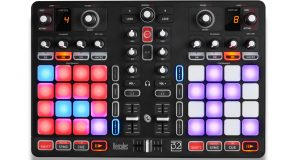 Hercules P32 DJ controller top