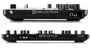 Hercules P32 DJ controller sides