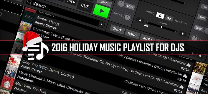2016 Holiday Music Playlist for DJs