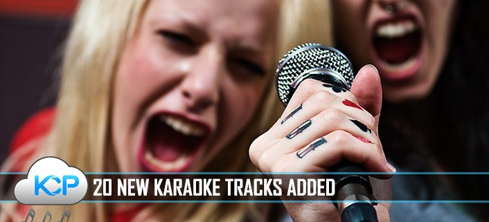 20 New Karaoke Songs Added To Karaoke Cloud Pro 12-19-16