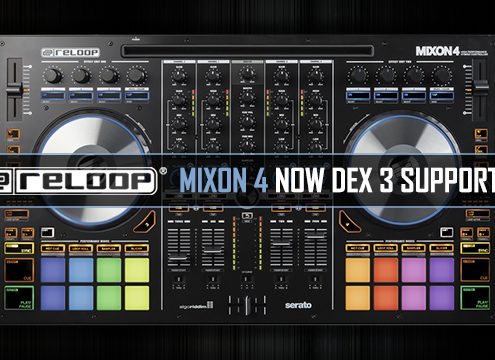 Reloop Mixon 4 DJ controller map for DEX 3